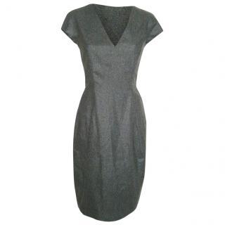 Yves Saint Laurent grey dress, size 40 Never Worn.