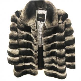 Tosato Chinchilla fur coat