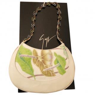 Giuseppe Zanotti Evening bag with gem encrusted strap