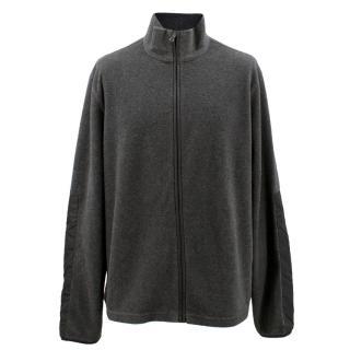 Prada Dark Grey Zip Up Cardigan