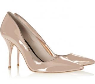 Sophia Webster Lola Rose Gold Mirrored Heels