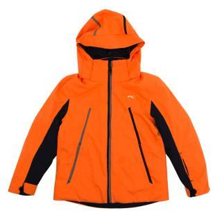 Kjus Kids Neon Orange Ski Coat