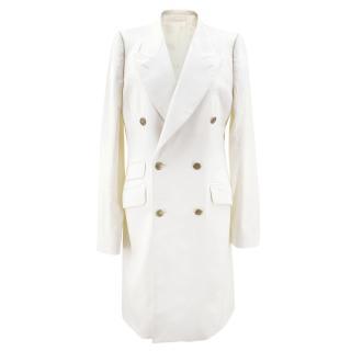 Alexander McQueen Off White Coat
