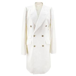 Alexander McQueen Off White Coat