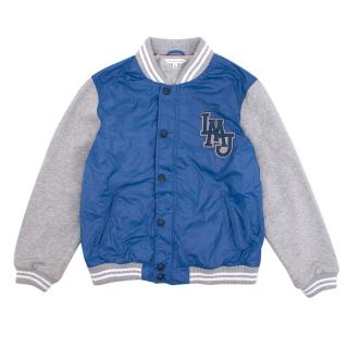 Marc Jacobs Little LMJ Logo Varsity Jacket