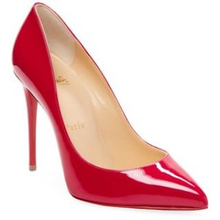 Christian Louboutin Red Patent Pigalle Pumps