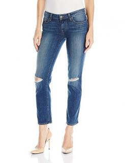 PAIGE MIKI STRAIGHT JEANS- Keiran Destructed