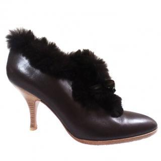 Salvatore Ferragamo ankle boots with the trim