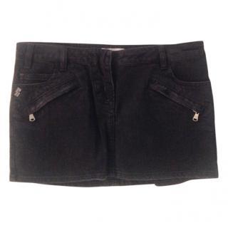 Pierre Balmain denim mini skirt