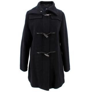 Burberry Black Digby Coat