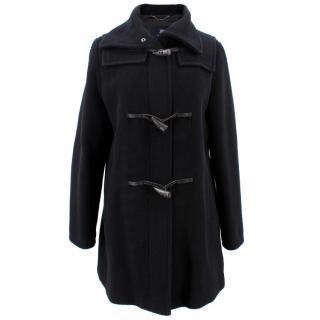 Burberry Black Digby Coat