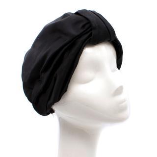 Jennifer Behr Black Classic Full Turban