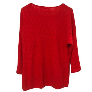 Comptoir des cotonniers red jumper