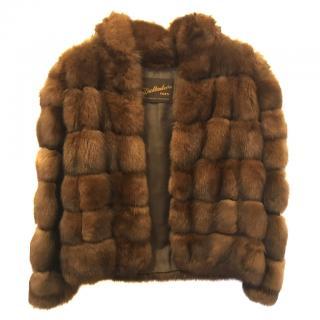 Bespoke Sable Jacket