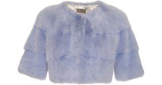 Lilly e Violetta 'Sarah' Mini baby blue cropped bolero jacket