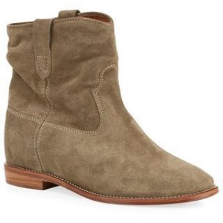 Isabel Marant Crisi Hidden Wedge Brown Boots