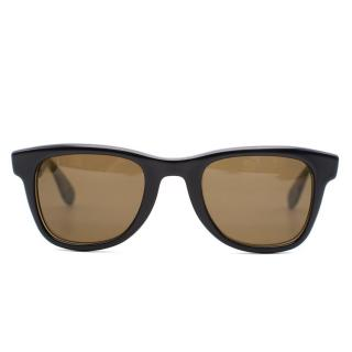 Carrera by Jimmy Choo Black Camouflage Sunglasses