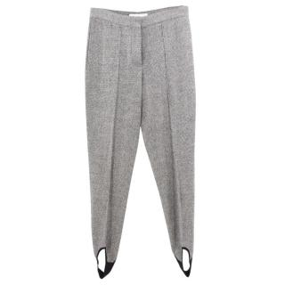 Stella McCartney Tweed Stirrup Trousers