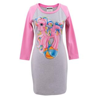 Moschino Couture Pink 'My Little Pony' Short Dress