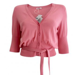 Wolford Fine Merino Sugar Pink Cardigan