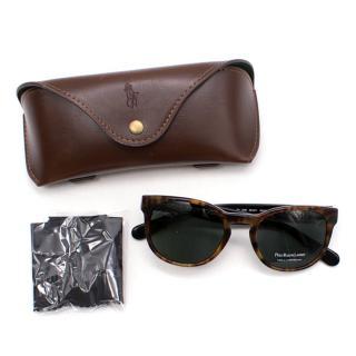 Polo Ralph Lauren Brown Wimbledon Special Edition Sunglasses