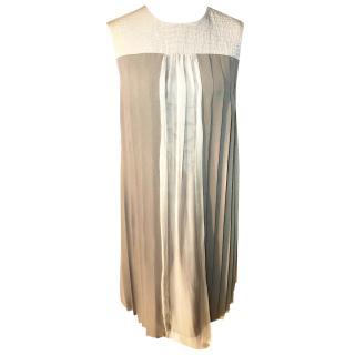Longchamp Pleated Dress
