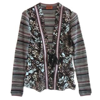 Miissoni silk and wool cardigan