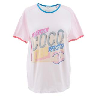Chanel 'Viva Coco Cuba Live' T-shirt