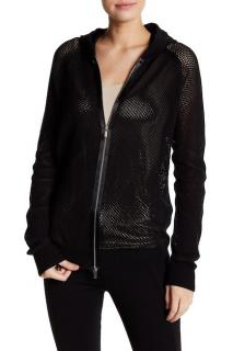 Wolford Netsation Black Net Jacket/ Cardigan