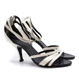 Givenchy White Leather Sandals