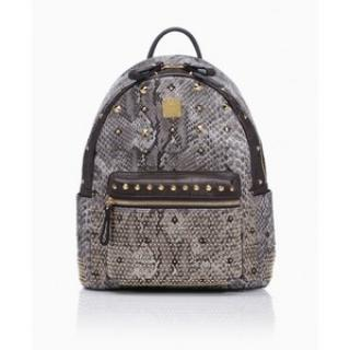 MCM snakeprint backpack