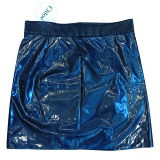 Chloe black mini skirt