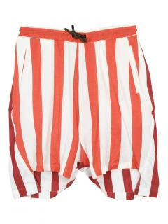 Vivienne Westwood red striped shorts