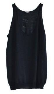 BOTTEGA VENETA Black Cashmere Silk Jumper
