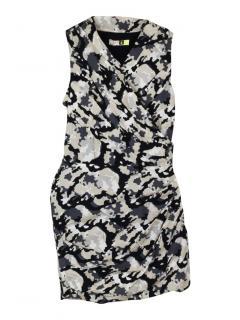 MSGM camo sleeveless dress