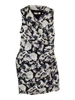 MSGM camo sleeveless dress