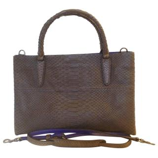 Coach Soft Borough Bag in Croc Embossed Leather