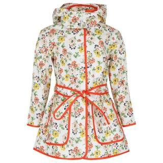 Stella McCartney Floral Kids raincoat