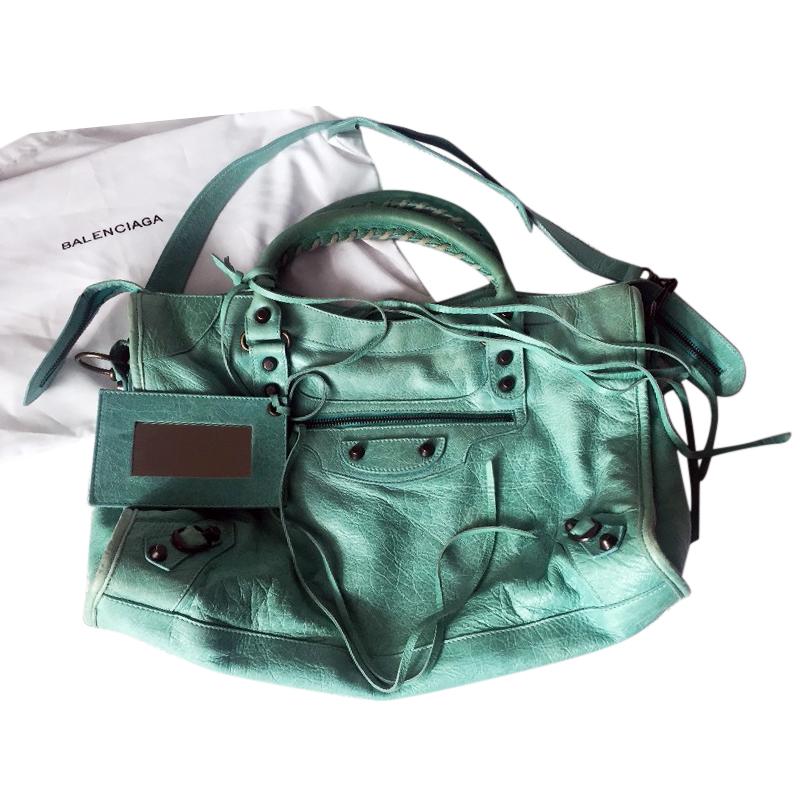 fb2fdac47658 Balenciaga Leather Classic City Bag