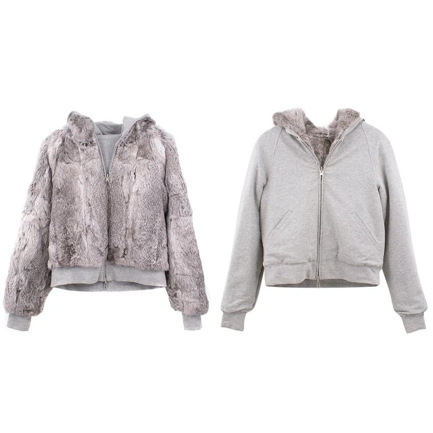 Bespoke Reversible Hooded Fur Jacket