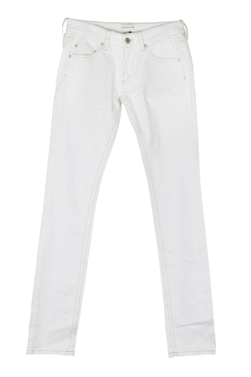 Isabel Marant Etoile Rust skinny jeans