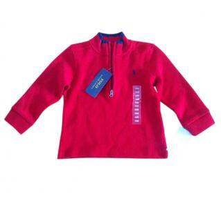 RALPH LAUREN Red Toddler Top