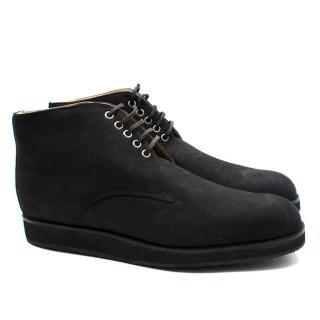 T&F Slack Shoemakers London Chuck Black Dessert Boots