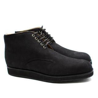 T&F Slack Shoemakers London Chuck Black Dessert Boots
