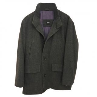 Hugo Boss Single Breasted Mens Coat