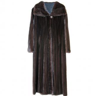 Blackglama full length mink coat