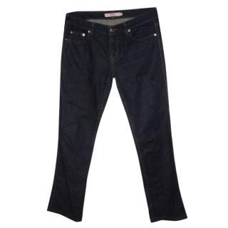 Valentino Red straight leg jeans