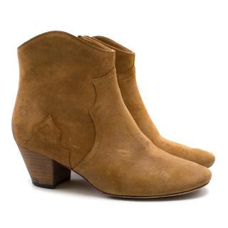 Isabel Marant Camel Dicker Boots
