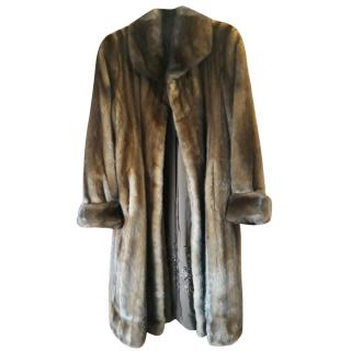 6161e85297a6 Garners Milano full length mink fur coat