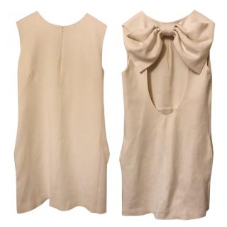 MSGM ivory dress